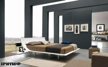 Итальянская мебель Presotto - кровать Aqua в белом лаке
