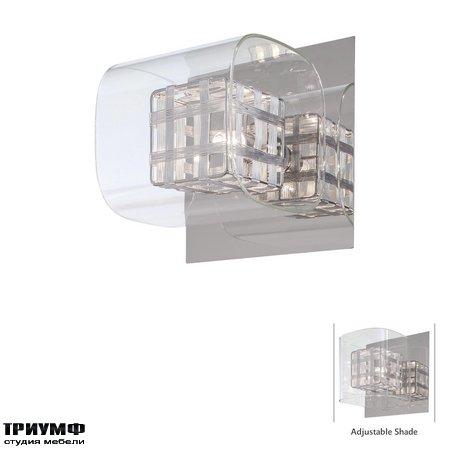 Американская мебель George Kovacs - 1 Light Bath with Chrome finish