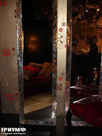 Итальянская мебель Rugiano - Зеркало Slim