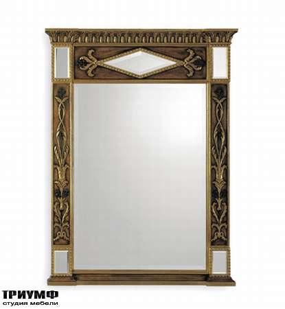 Итальянская мебель Chelini - Зеркало арт-деко арт.583