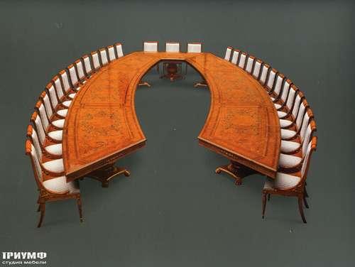 Итальянская мебель Citterio Fratelli - Стол переговорный симметричный с радикой