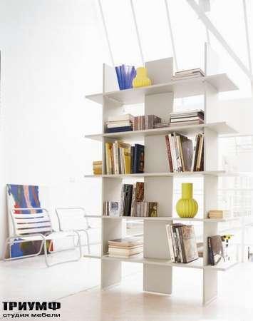 Итальянская мебель Di Liddo & Perego - Шкаф открытый книжный, перегородка Alias