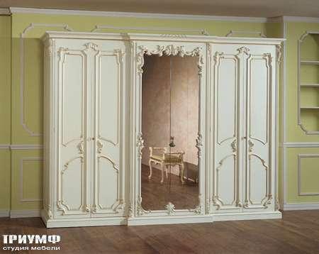 Итальянская мебель Silik - Шкаф с зеркалом Larissa