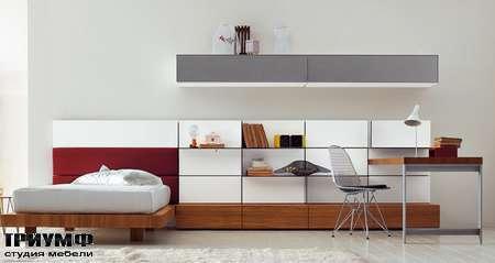Итальянская мебель Pianca - Детская комната и кровать Mia People Tatami