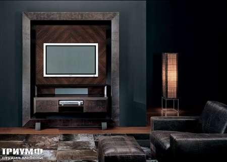 Итальянская мебель Smania - Панель, стенка под ТВ Anteprima Deluxe