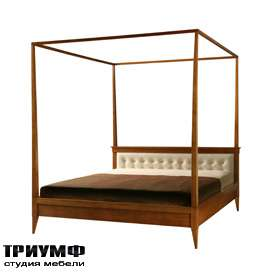 Итальянская мебель Morelato - Кровать + балдахин кол. 900