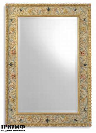 Итальянская мебель Chelini - Зеркало с персидским узором арт.597/P