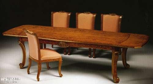 Итальянская мебель Citterio Fratelli - Стол классический прямоугольный раздвижной