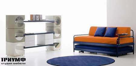 Итальянская мебель Di Liddo & Perego - Стенка для книг Cubik Gallery