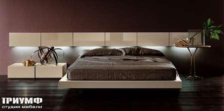Итальянская мебель Pianca - Кровать People Tatami с подвесными шкафами