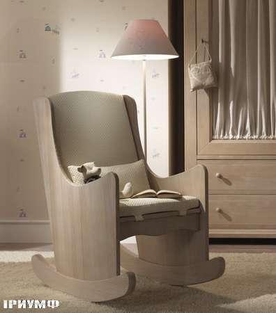 Итальянская мебель De Baggis - Кресло-качалка S0691