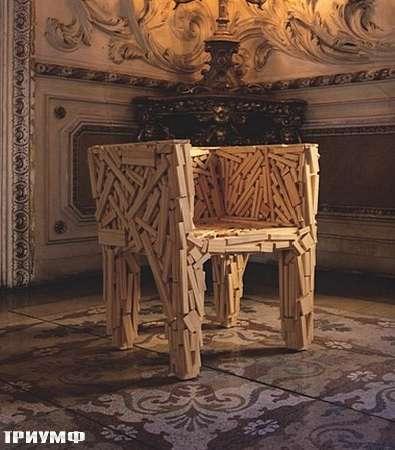 Итальянская мебель Edra - кресло Favela