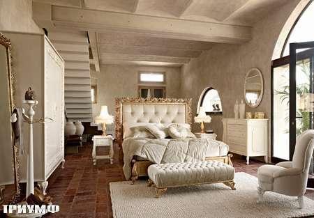 Итальянская мебель Volpi - кровать Angelica