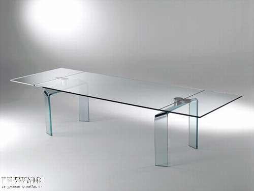 Итальянская мебель Reflex Angelo - Стол стеклянный policleto gamba vetro