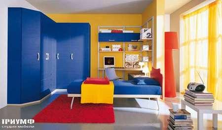 Итальянская мебель Julia - Угловой шкаф, модерн, smail