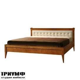 Итальянская мебель Morelato - Кровать широкая на ножках