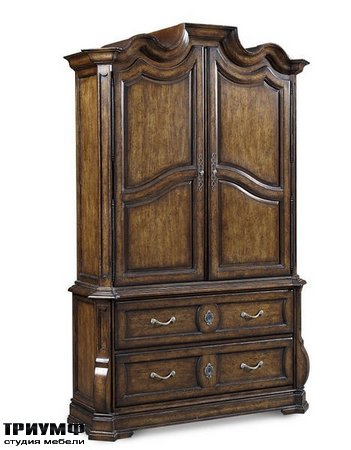 Американская мебель A.R.T. - Continental Armoire   Weathered Nutmeg