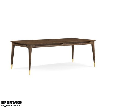 Американская мебель Thomasville - Ellen DeGeneres Westwood Rectangular Dining Table