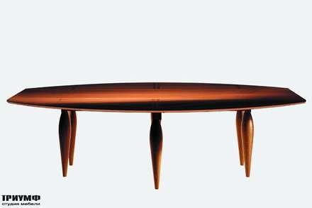 Итальянская мебель Driade - Стол овальный на пяти ножках