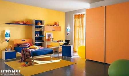 Итальянская мебель Julia - Шкаф с раздвижными дверьми, smail
