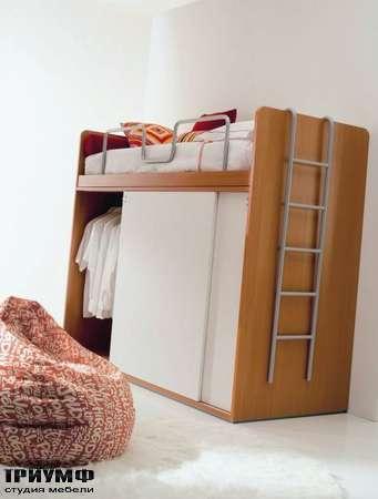 Итальянская мебель Di Liddo & Perego - Шкаф платяной, с кроватью
