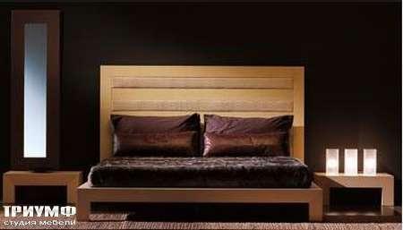 Итальянская мебель Rattan Wood - Кровать Lindsay