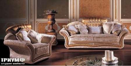 Итальянская мебель Ezio Bellotti - Кресло с декоративными подушками