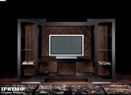 Итальянская мебель Smania - Стенка под ТВ Eclectic Quattro