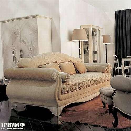 Итальянская мебель Giusti Portos - Диван с декоративными подушками