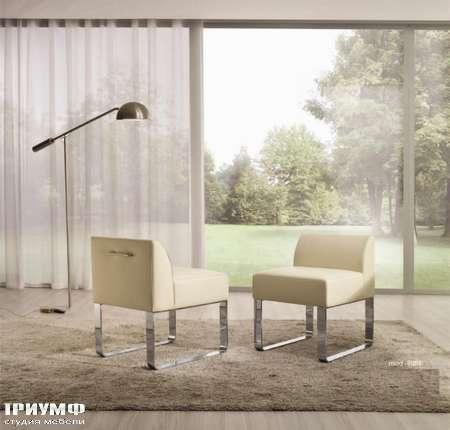 Итальянская мебель CTS Salotti - Кресло с низкой спинкой, модерн, Suite
