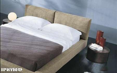 Итальянская мебель Presotto - кровать Axel в ткани