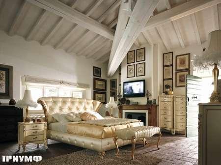 Итальянская мебель Volpi - кровать Capri