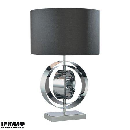 Американская мебель George Kovacs - 1 Light Table Lamp Black Shade