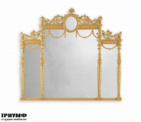 Итальянская мебель Chelini - Зеркало тройное арт.1052