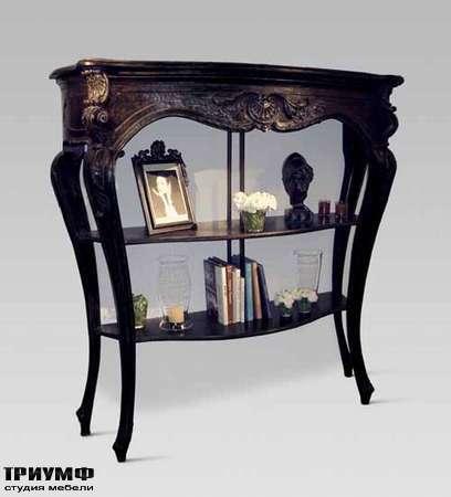 Итальянская мебель Chelini - Витрина-консоль, дерево  арт. 2081