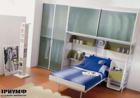 Итальянская мебель Di Liddo & Perego - Стенка с нишей под кровать