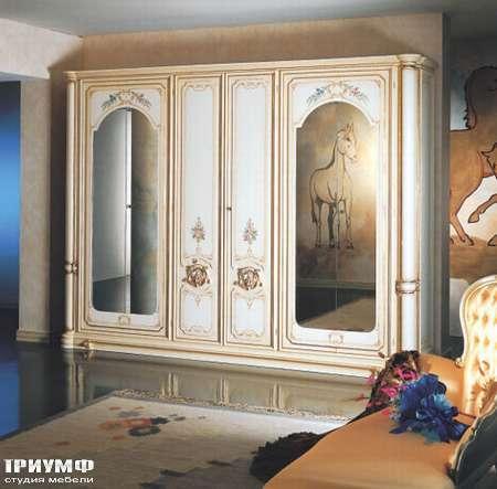 Итальянская мебель Silik - Шкаф с рисунком Niobe