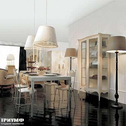 Итальянская мебель Giusti Portos - Стол на 4-х ногах