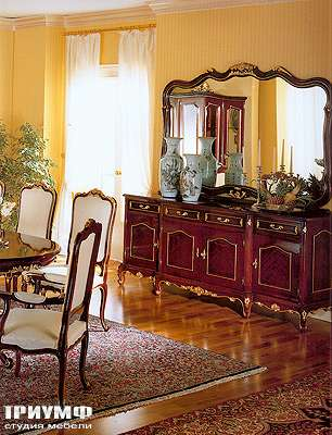 Итальянская мебель Angelo Cappellini -  Комод, зеркало.