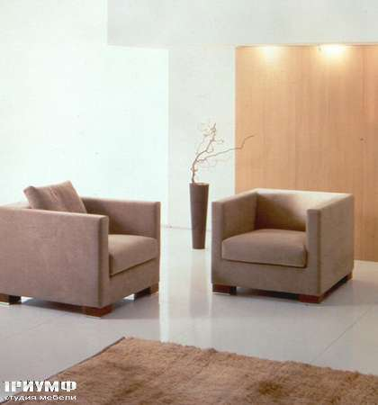 Итальянская мебель CTS Salotti - Кресло квадратное, модель Talk