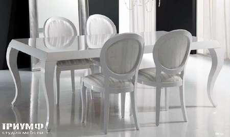 Итальянская мебель DV Home Collection - Стол Post и стул Pleasure