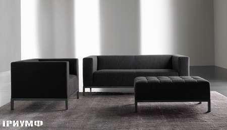 Итальянская мебель Meridiani - диван Farrell в велюре
