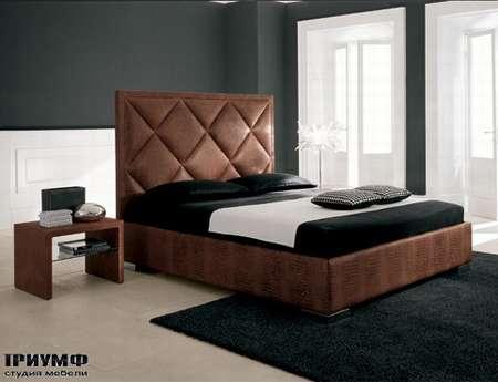 Итальянская мебель Cattelan Italia - Кровать Patrick