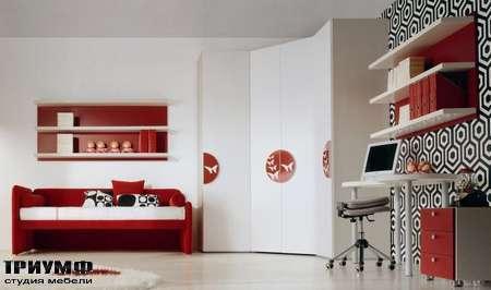 Итальянская мебель Di Liddo & Perego - Шкаф угловой stampa Butterfly