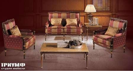 Итальянская мебель Ezio Bellotti - Столик с мраморной столешницей