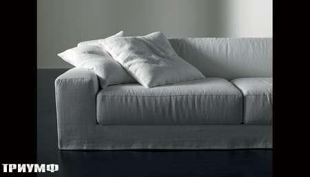 Итальянская мебель Meridiani - диван Freeman ghost