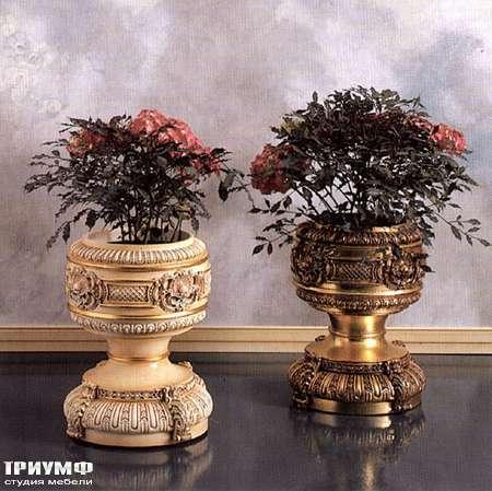 Итальянская мебель Silik - Цветочницы резные в дереве