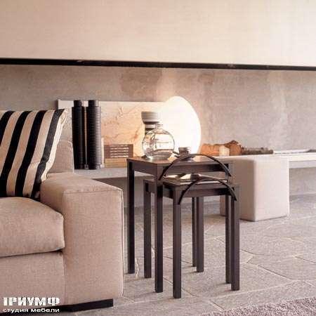 Итальянская мебель Porada - Журнальный столик duetto