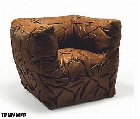 Итальянская мебель Edra - кресло Sponge
