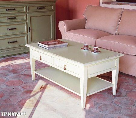 Итальянская мебель Tonin casa - журнальный стол с ящиками